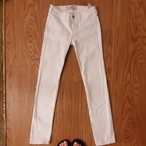 White Hollister jeans